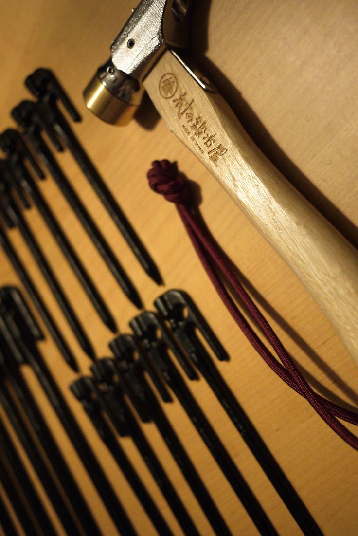 村の鍛冶屋 : 鍛造ペグ エリッゼステーク & St.Marteloアルティメットハンマー: thp_blog