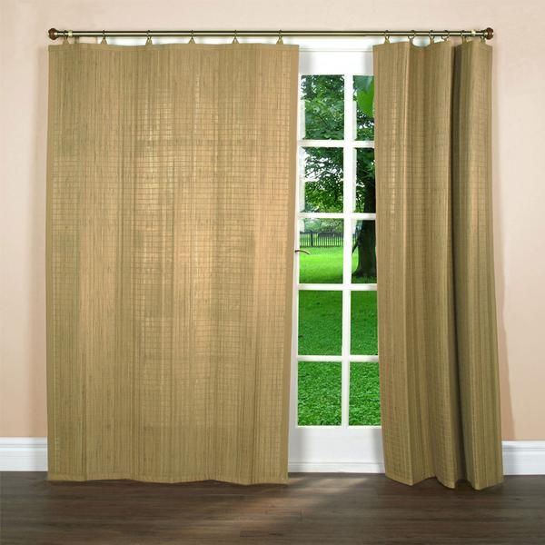 Bamboo Ring Top Panels Bamboo Curtains Bamboo Panels Curtains
