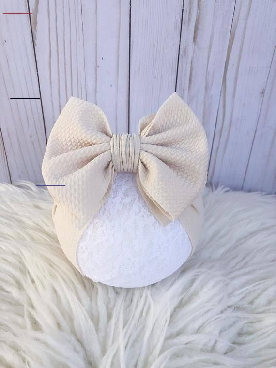 Pin By Eva Leonor On Turbantes In 2020 Diy Baby Bows Baby Girl Bows Baby Bling Bows