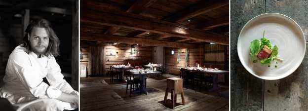 25. Faviken in Jarpen, Zweden Chefkok: Magnus Nilsson Soort keuken: Authentiek Scandinavisch Signatuurgerecht: Coquilles gekookt boven brandende takken van jeneverbessen