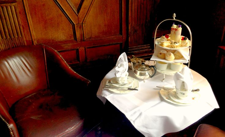 Enjoy Afternoon Tea in the drawing room at Eastwell Manor