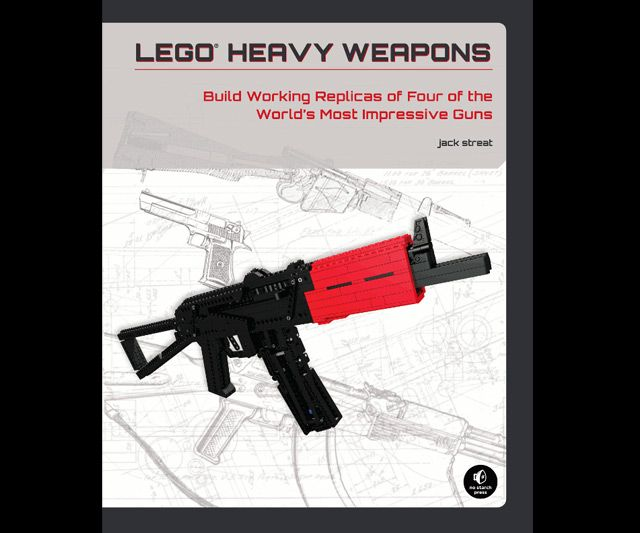LEGO Weapons Builder's Guide: Jack Streat, Lego Heavy, Building Work, Heavy Weapons, Jack O'Connel, Impressions Guns, Lego Guns, Work Replica, Lego Weapons