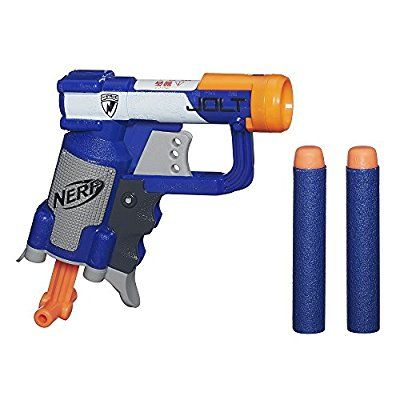 www.amazon.com Nerf-N-Strike-Jolt-Blaster-blue dp B009T45X78 ref=as_li_ss_tl?ie=UTF8&qid=1474565775&sr=8-2&keywords=small+nerf+gun&linkCode=sl1&tag=marmeemar-20&linkId=1032b798fe236688702f58ded0cdce65