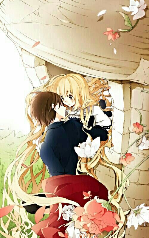Rapunzel Fairy Tale Animated Into Anime This Is Sweet