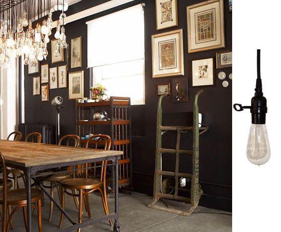 industrial style light fixtures | Deep Bowl Shade Pendants for Kitchen Lighting | The Barn Light & 11 best lighting images on Pinterest | Barn light electric ... azcodes.com