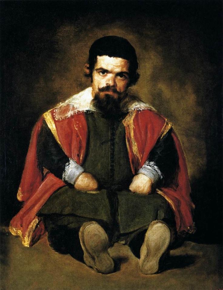 The dwarf Sebastian de Morra – by Velázquez – c.1645.