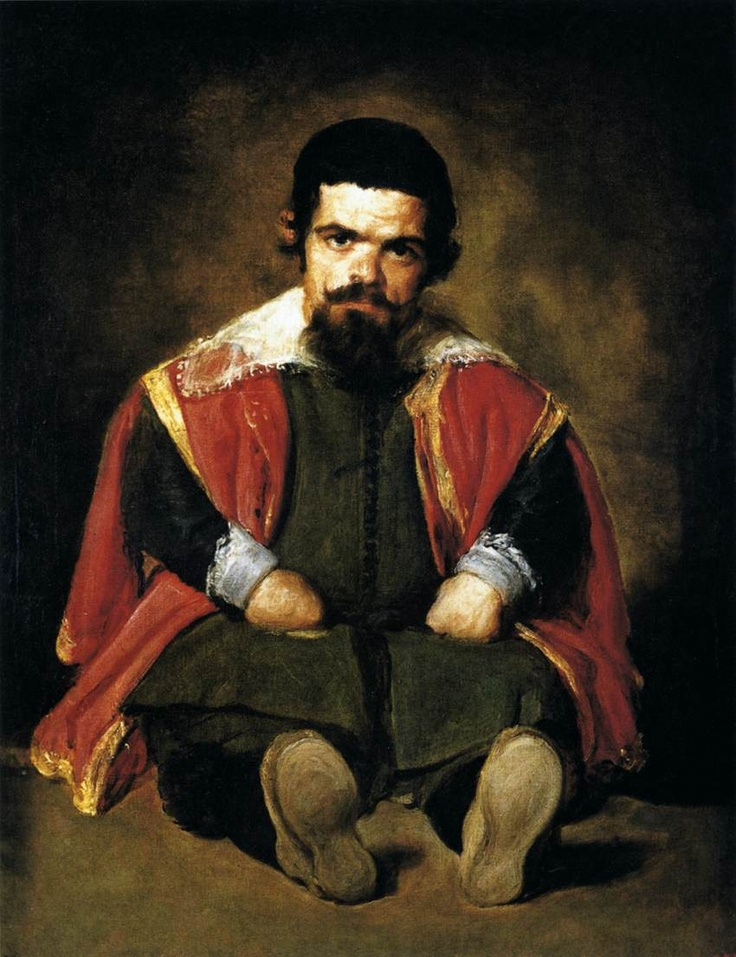 """Sebastian the Dwarf"" by Diego Velasquez (1645)"