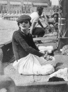 Coco Chanel in Venezia  #CocoChanel Visit espritdegabrielle.com | L'héritage de Coco Chanel #espritdegabrielle