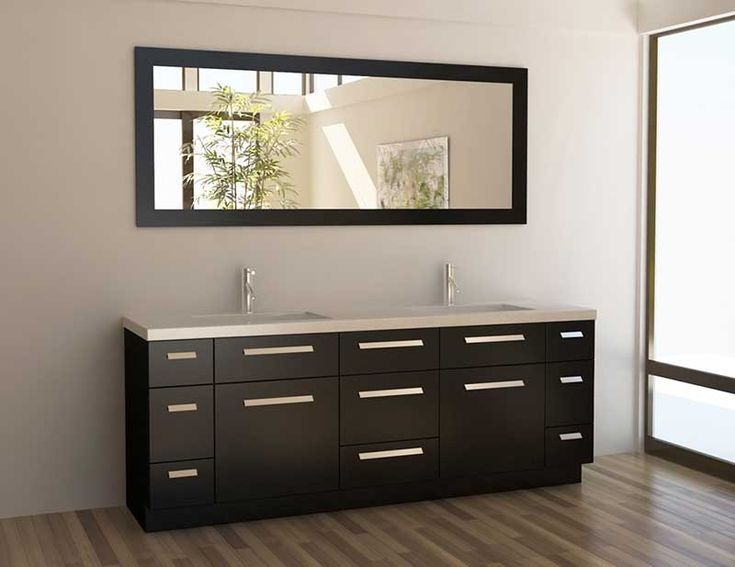 Best Modern Bathroom Vanities Images On Pinterest Bathroom - 24 inch bathroom vanity with drawers for bathroom decor ideas