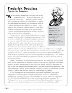 fredrick douglass passage rhetorical analysis Frederick douglass uses a lot of syntax, figurative language, and selection of  detail  sentence of the passage is a periodic sentence, because the sentence  doesn't receive  the differences reinforce douglass's rhetoric because they.