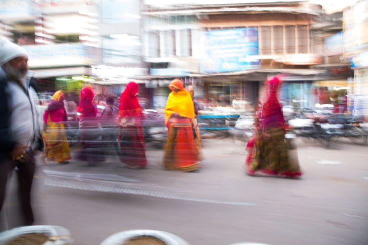 Estampa del mercado de Pushkar - Rajastán, un viaje en el tiempo