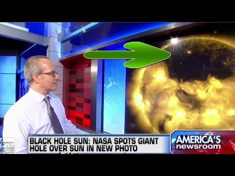 Giant Black Cube Spotted Near the Sun NASA Hiding UFOs Evidence