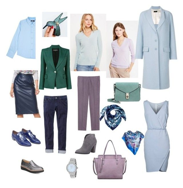 """Основа гардероба"" by sevostianova-e-a on Polyvore featuring Naturalizer, Kate Spade, prAna, Max&Co., Moda Luxe, Joseph, MANGO and Balmain"