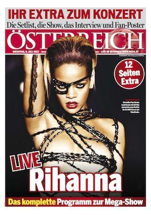 Rihanna Extra in ÖSTERREICH