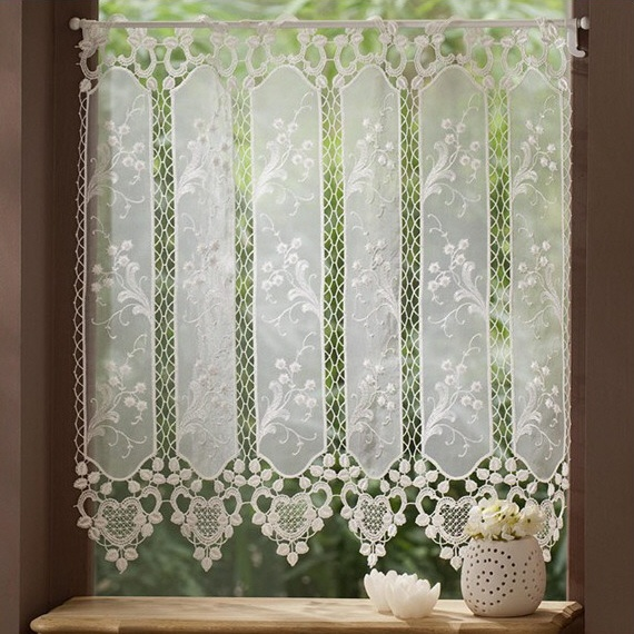 17 best images about cortinas e brises on pinterest french door curtains crochet lace and. Black Bedroom Furniture Sets. Home Design Ideas