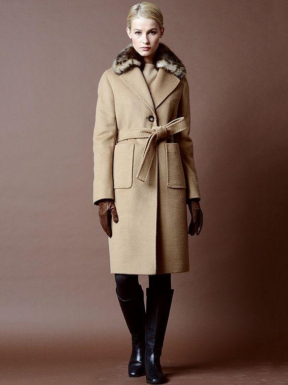 Пальто женское цвет светлый кэмел, пальтовая ткань, артикул 1015140p60207