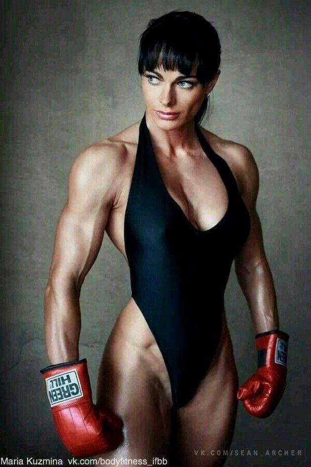 naked mma gym babe
