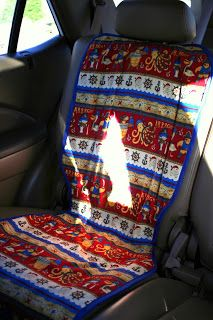 Car seat protector - Lilliedale: tutorials                                                                                                                                                                                 More