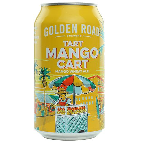 Golden Road Tart Mango Cart | Buy craft beer online from ...