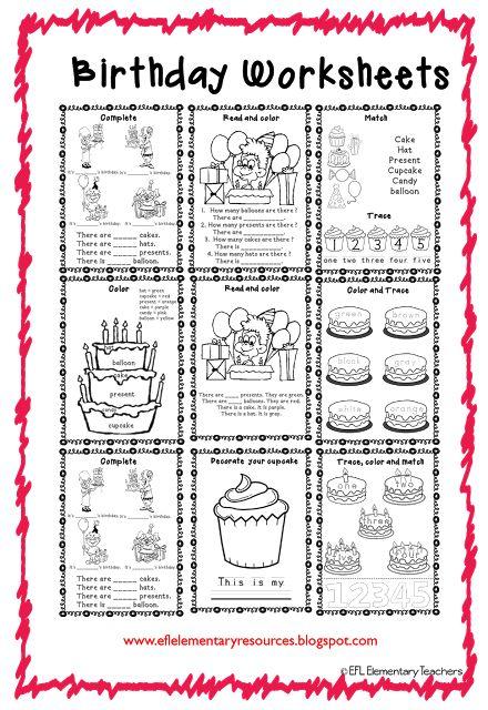 78 best esl birthday theme images on pinterest teacher birthday preschool teachers and baby. Black Bedroom Furniture Sets. Home Design Ideas