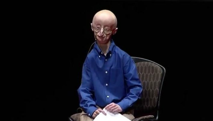 """My Philosophy for a Happy Life: Sam Berns- I believe that I can change the world,""""...""""And as I'm striving to change the world, I will be happy."""""""