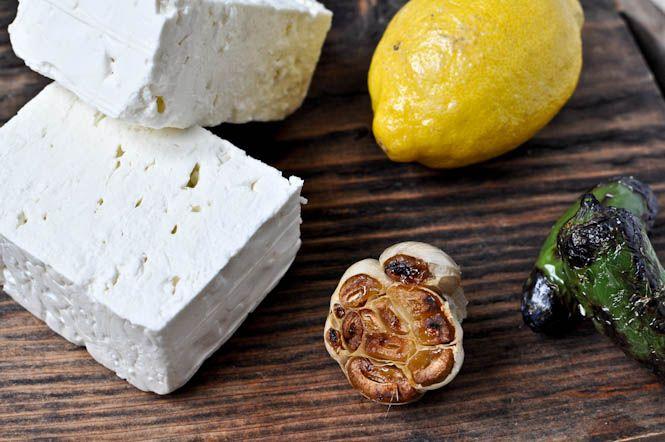 feta, lemon, jalapeño dipFeta Cheese, Cheese Dips, Crazy Feta, Creamy Feta, Feta Dips, Crazy Food, Whole Food Recipe, Jalapeno Recipe, Jalapeno Dip