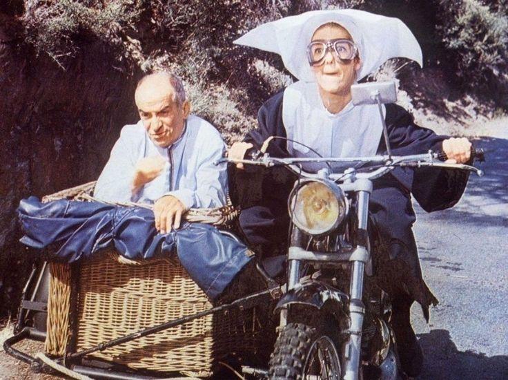 """Diapo Louis de Funès """"Le gendarme se marie"""" (1968)."""