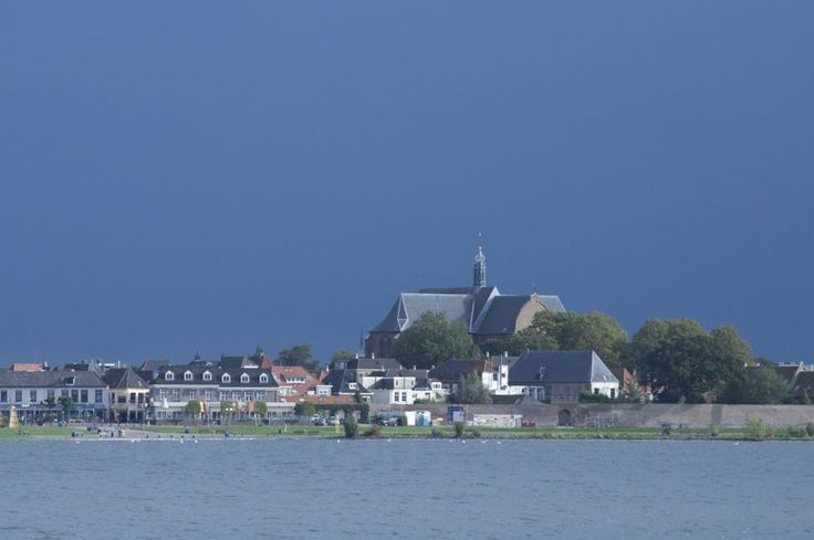 Harderwijk seen from the lake