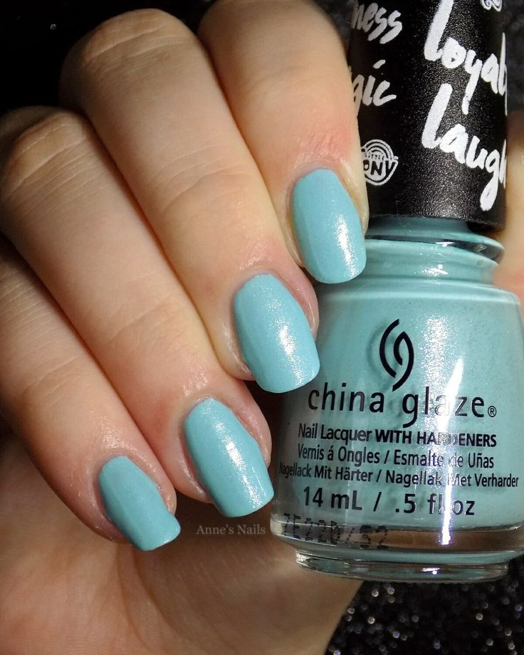 China Glaze 'One Polished Pony' from the 2017 My Little Pony collection.