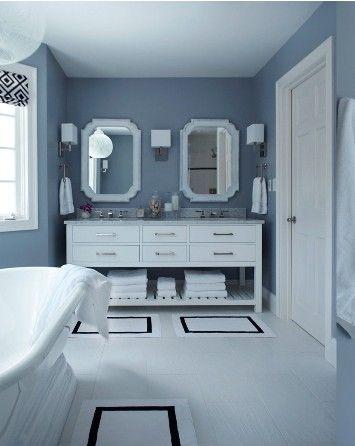 Grey bathroom by celeste