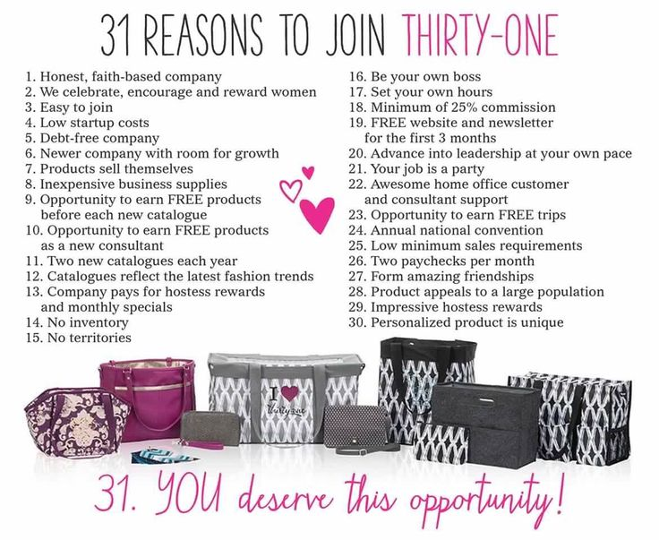 Fall 2015 31 reasons to join thirty one gifts. Join my Team today!  Www.mythirtyone.com/299966