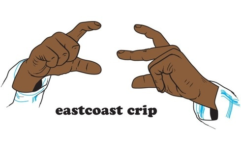 east coast finger sign - photo #1