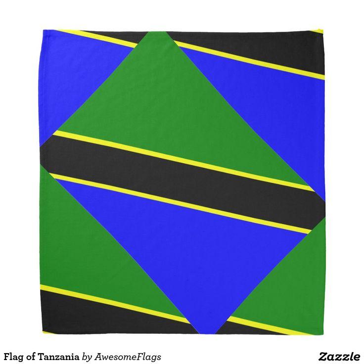 Flag of Tanzania Bandanna