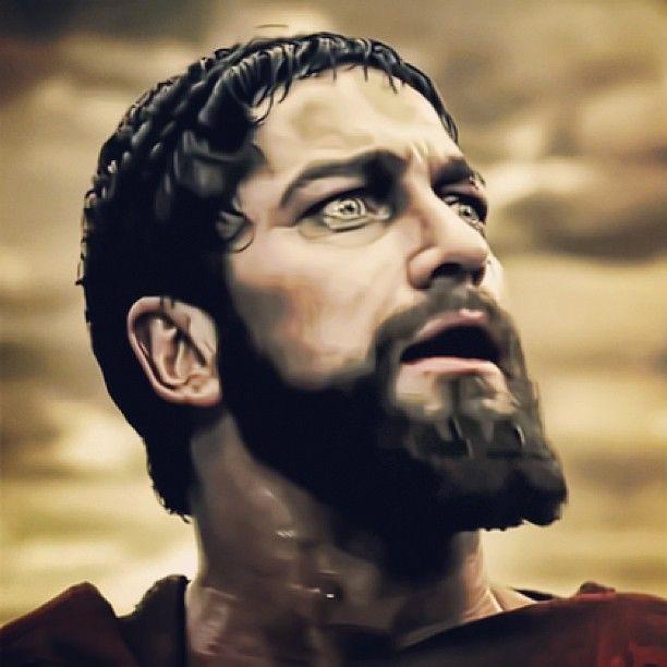 King Leonidas in 300!!