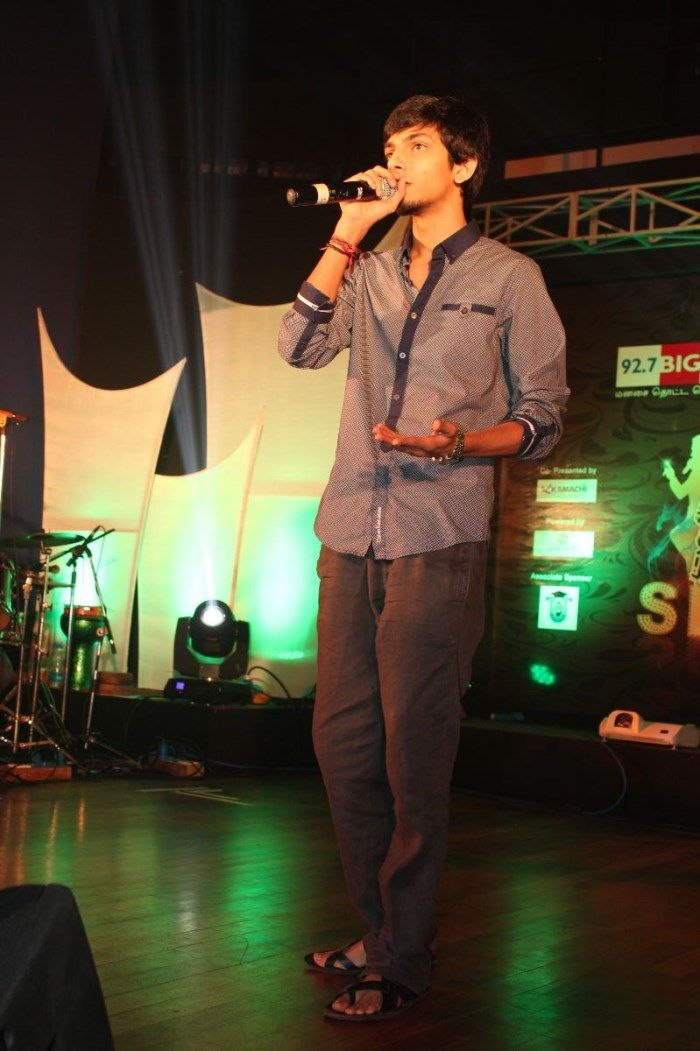 Anirudh Ravichander at I Music Launch