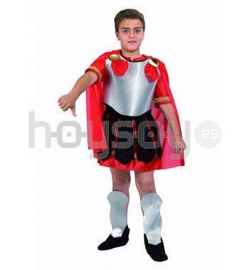 #Disfraz de #romano Incluye: traje completo, capa y espinilleras #Carnaval #Disfraces