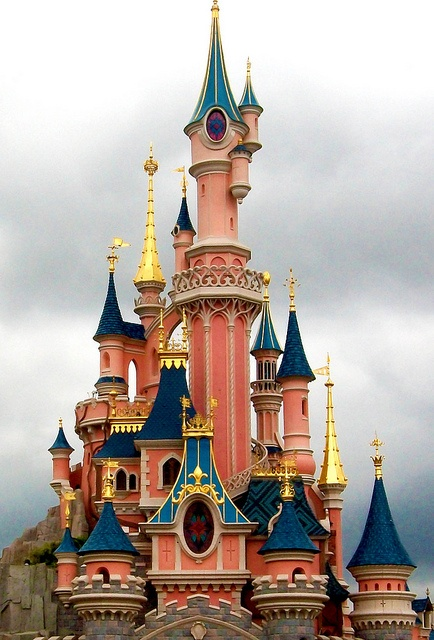 Disneyland Paris plume de blonde