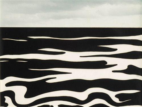 """artimportant: """" Roy Lichtenstein - Landscape 9, 1967 """""""