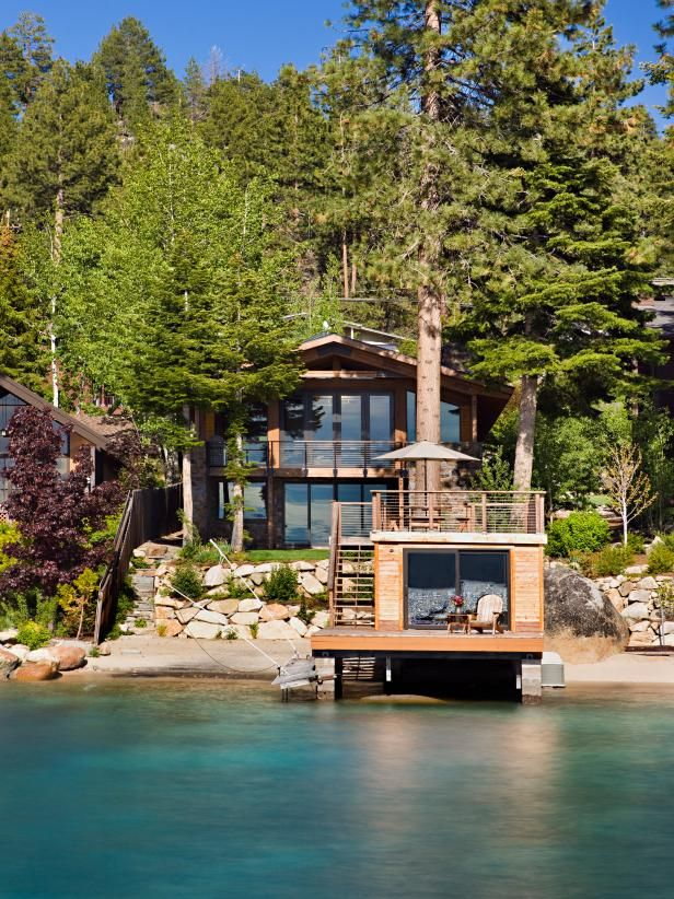 Living Lakeside 60 Luxurious Waterfront Properties Lake Houses Exterior House Designs Exterior Lakefront Property