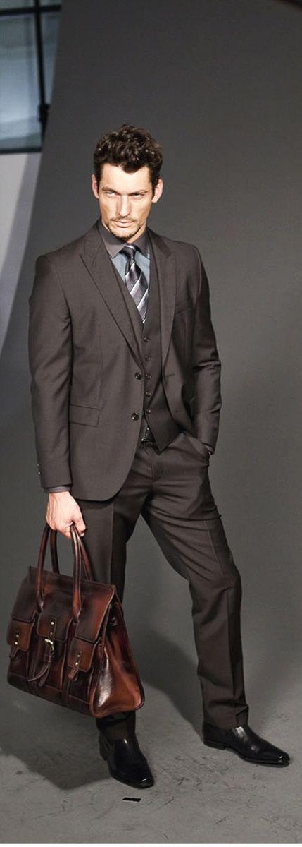 David Gandy Nice Fashion with TRIARROWS Gentry Collection #gentry #watch #fashion  http://www.triarrowswatch.com/product/gentry/