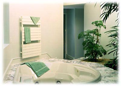 """Omnipanel Towel Warmer - Runtal Radiators- style TW15* 43.6"""" - master bath"""