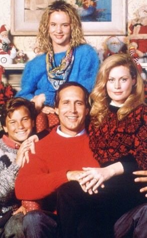 National Lampoon Christmas Vacation. Mainly for Galecki in his Cosby sweater.