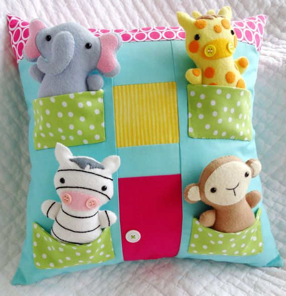 House Pillow Sewing Pattern Tutorial PDF by preciouspatterns