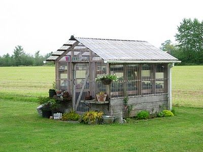 greenhouse. A girl can dream...