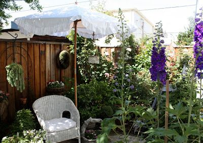 My Romantic Home: Market Umbrella Cover