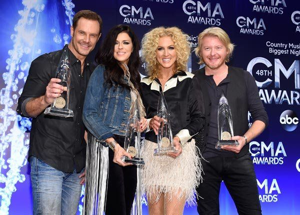 Little Big Town at the 2014 CMA Awards
