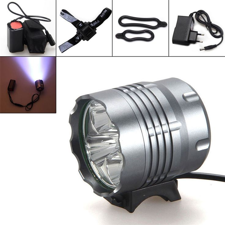 Hot selling Bike Headlamp 8000Lm 5x  XM-L U2 LED Front Bicycle Light Bike Headlamp Headlight for Camping Fishing Caving