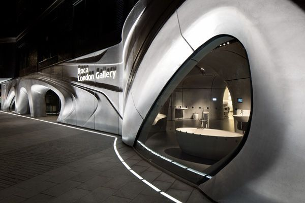 H2O Inspired Gallery by Zaha Hadid Architects