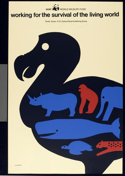 TomEckersley,WWF [WorldwideWildlifeFund]poster