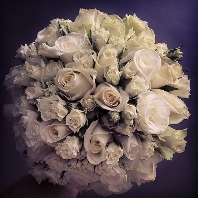 Roses wedding bouquet